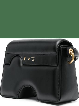 Off-White Black Burrow-22 Shoulder Bag