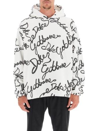 Dolce & Gabbana Logoed Sweatshirt With Hoodie
