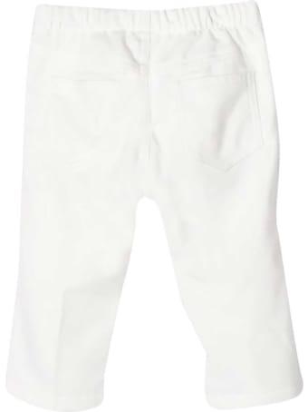 Il Gufo White Trousers Kids