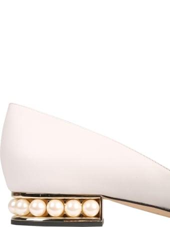 Nicholas Kirkwood Casati D'orsay Heel Ballerinas