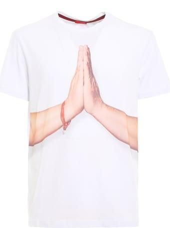 Isaia Tshirt Gesti Prega