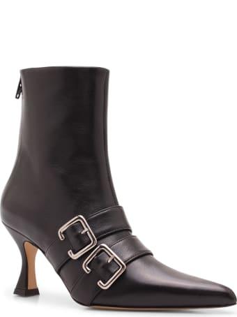 Kalda 'thyri' Leather Ankle Boots