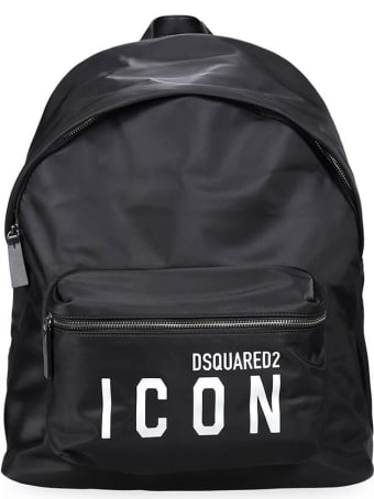Dsquared2 Icon Black Backpack