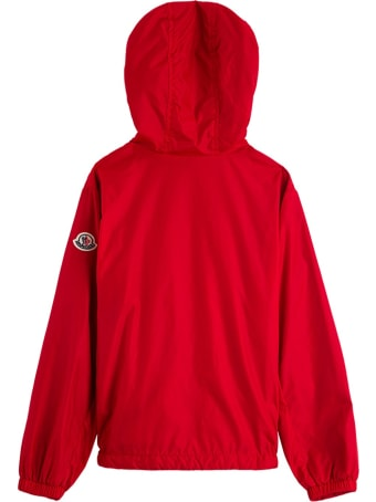 Moncler New Urville Jacket In Red Nylon