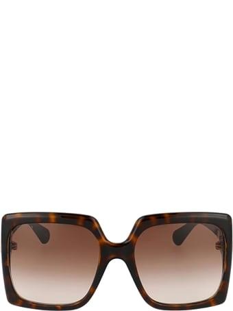 Gucci Gucci Gg0876s Havana Sunglasses