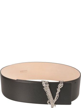 Versace V-buckle Belt