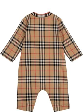 Burberry Michael Vintage Check Cotton Jumpsuit
