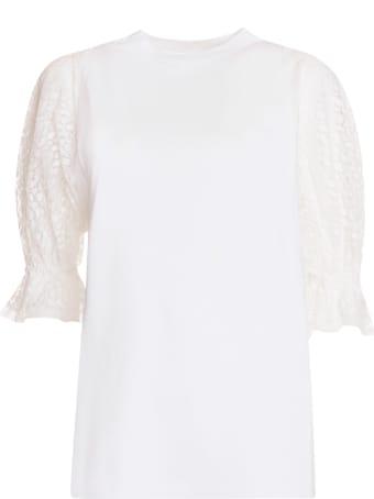 Givenchy White Cotton Top