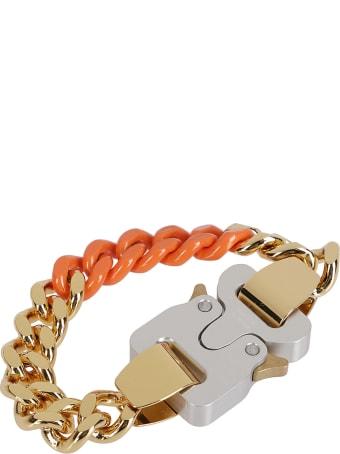 1017 ALYX 9SM Gold-tone Steel And Orange Bracelet