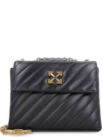 Off-White Jackhammer 24 Leather Shoulder Bag