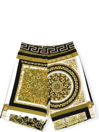 Versace Barocco Print Short