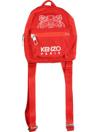 Kenzo Mini Backpack With Tiger Logo