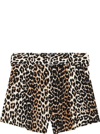 Ganni Linen Shorts