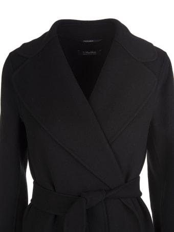 'S Max Mara Black Poldo Coat