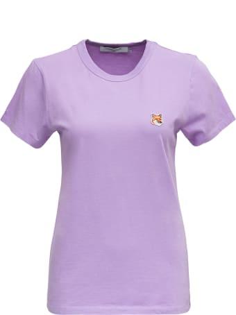 Maison Kitsuné Fox Head Patch Classic Tee-shirt