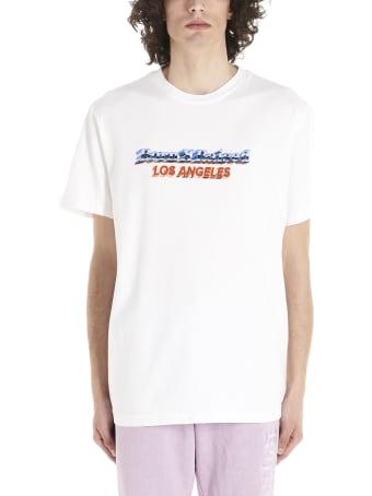 BornxRaised 'chrome' T-shirt