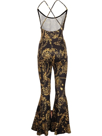 Versace Jeans Couture Jumpsuit Print Baroque