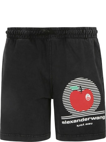 Alexander Wang Big Apple Graphic Classic Shorts