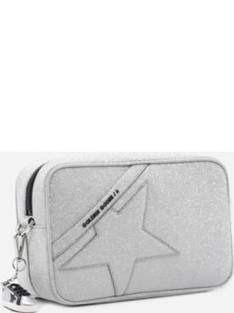 Golden Goose Star In Shoulder Bag With All-over Glitter