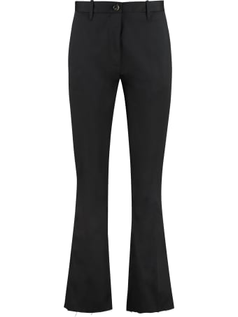 Nine in the Morning Rome Stretch Cotton Trousers