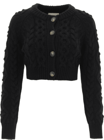 Loulou Studio Abaco Cropped Cardigan
