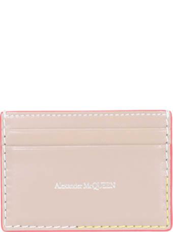 Alexander McQueen Logo Cards Holder