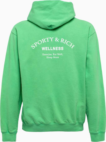 Sporty & Rich Sporty And Rich Drink Water Sweatshirt Ho171co