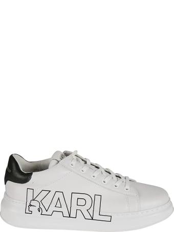 Karl Lagerfeld Karl Logo Lace Sneakers