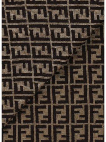 Fendi Blanket With Monogram