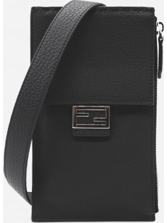 Fendi Small Baguette Bag In Leather
