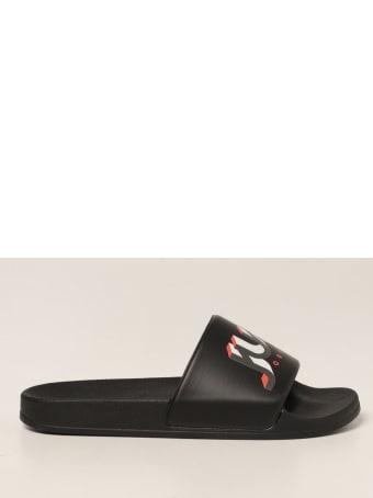 Just Cavalli Flat Sandals Shoes Women Just Cavalli