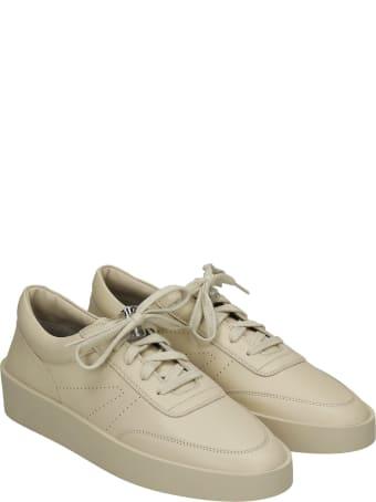 Fear of God Sneakers In Beige Leather