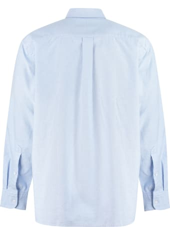 Russell Athletic Cotton Button-down Shirt - Boss X Russell Athletic