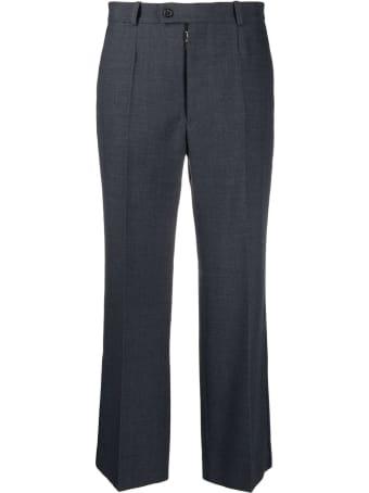 Maison Margiela Dark Grey Cotton Trousers