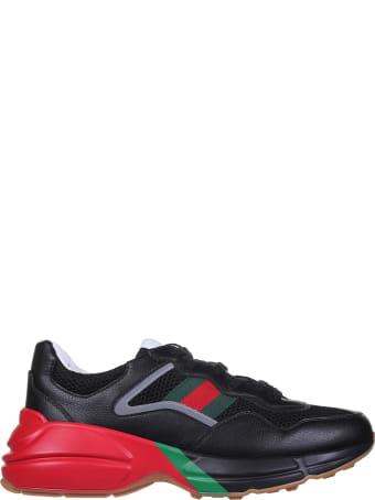 Gucci Rhyton Black Sneakers