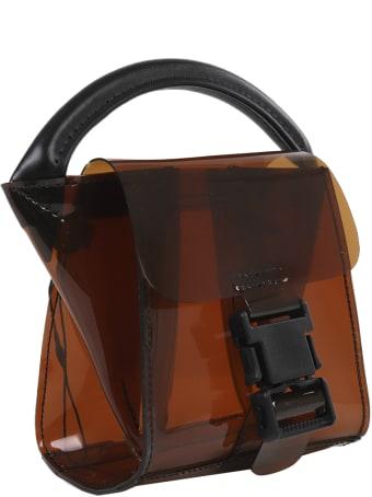 Zucca Brown Buckled Bag Mini