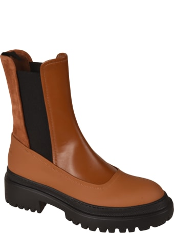 L'Autre Chose Elastic Sided Ankle Boots