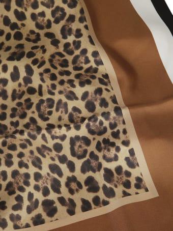 Valentino Garavani Leopard Print Skirt