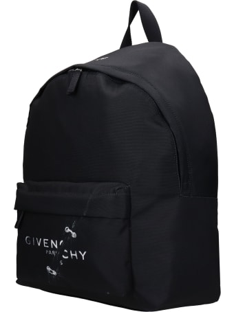 Givenchy Backpack In Black Polyester