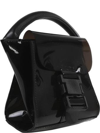 Zucca Black Buckle Bag Mini