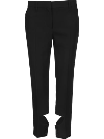 Burberry London Cut Out Tailored Pants