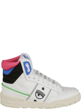 Chiara Ferragni Flirting Eye Logo High Sneakers
