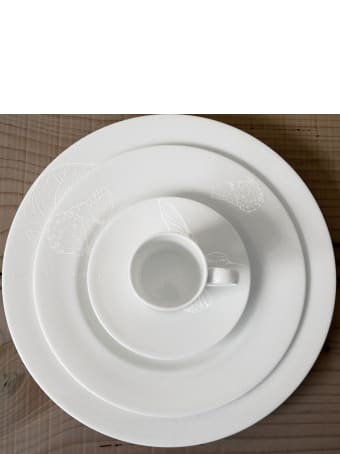 Taitù Set of 4 Salad Plates - Bianco&Bianco Collection