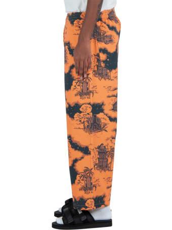 Vyner Articles Hawaii Digital Print Judo Pants
