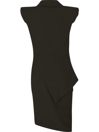 Les Hommes Blazer Zip Dress