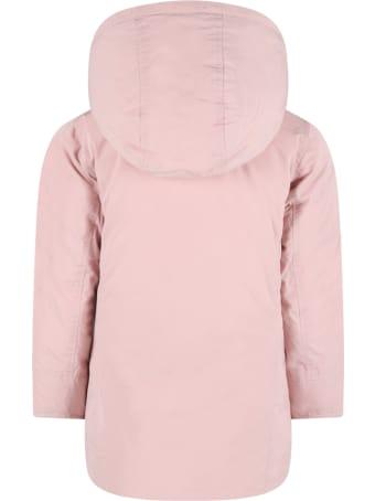 Woolrich Multicolor ''parka'' Jacket For Girl