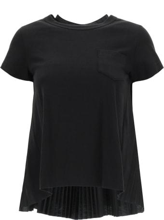 Sacai Hybrid T-shirt