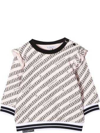 Givenchy Newborn Pink Sweatshirt