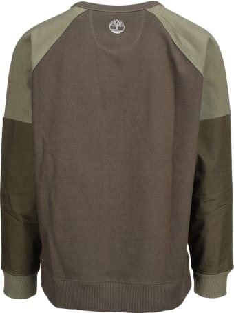 Timberland Panelled Crew Neck Sweatshirt