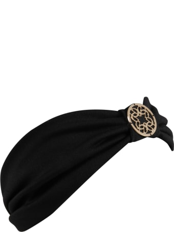 Elie Saab Black Hairband For Girl